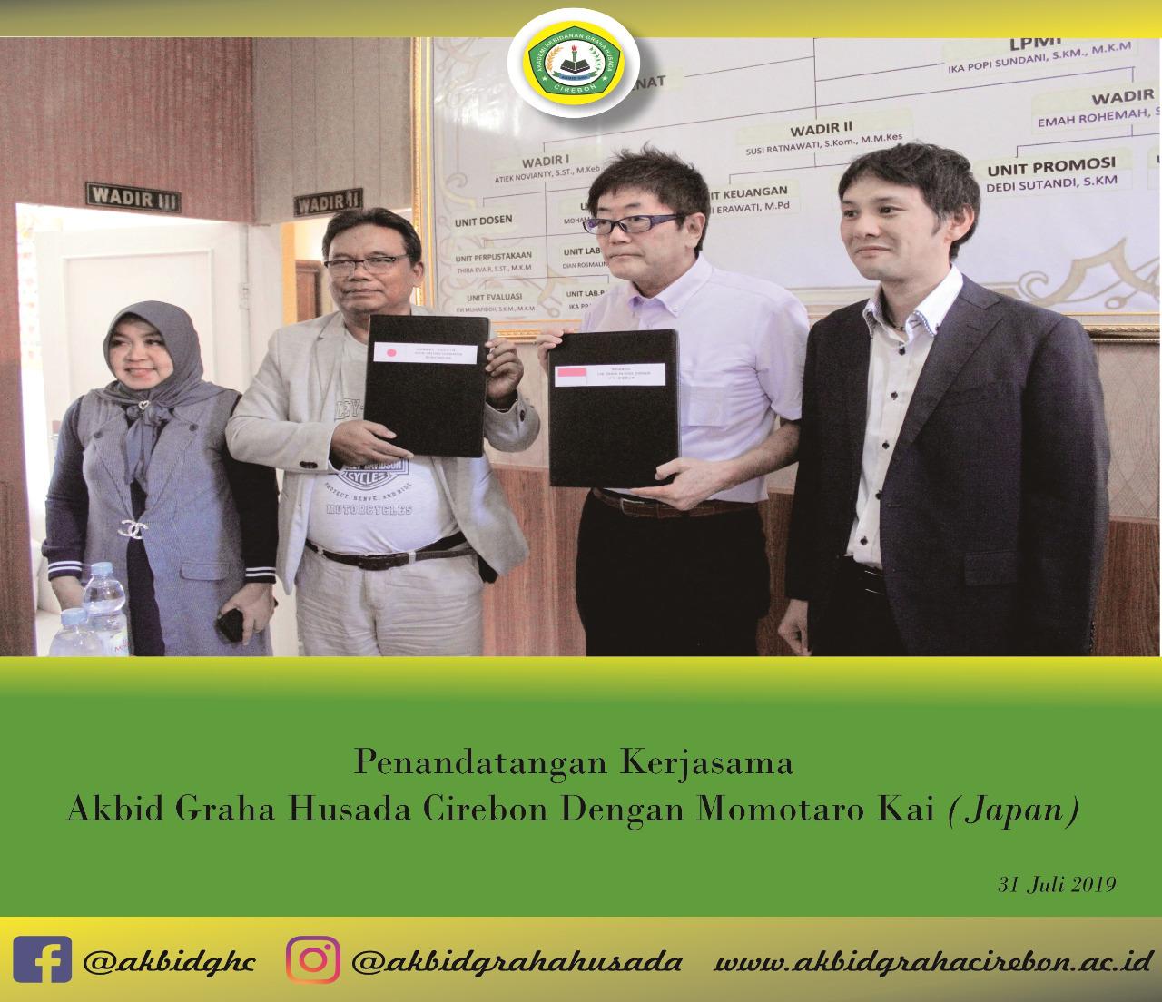 SEPAKAT...! Momotaro Kai Group (Japan) + Akbid GHC
